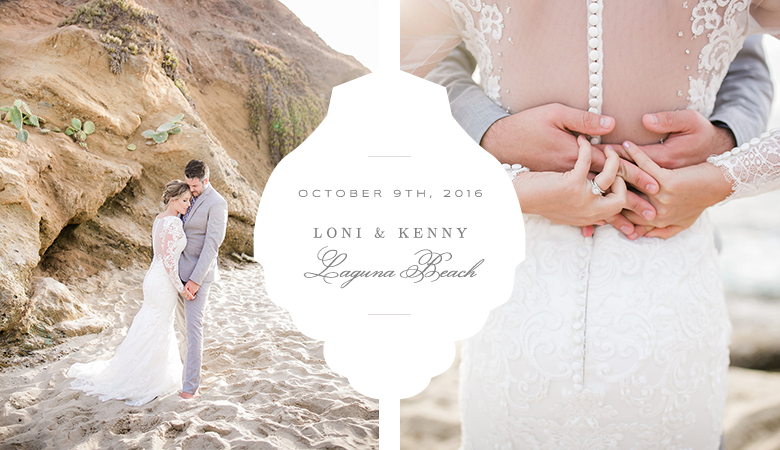 Intimate weddings at Laguna Beach, CA